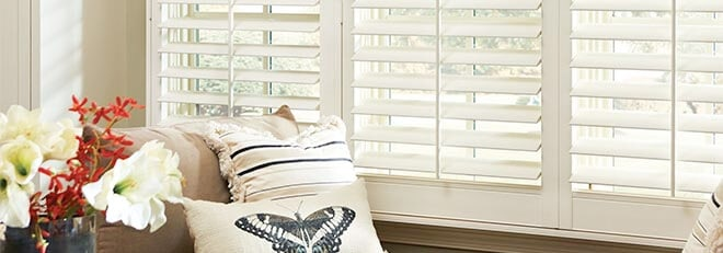 Interior Shutters Austin Texas Vinyl Shutters Managed By Eclipse Ultrasatin  Finish Living Room Windows Adjustable White