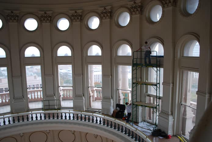 capitol window film work