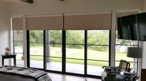 Window Shades by Shades of Texas  Austin Texas home installation master bedroom