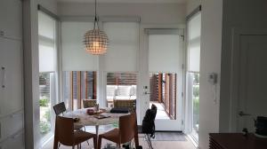 Window Shades by Shades of Texas  Austin Texas home installation dining room