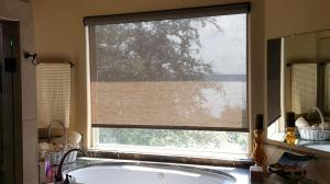 Window Shades by Shades of Texas  Austin Texas home installation bathroom