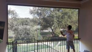 Motorized Shades by Shades of Texas  Austin Texas residential installation