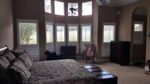 Window Shutters by Shades of Texas Austin Texas home installation master bedroom