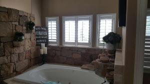 Window Shutters by Shades of Texas Austin Texas home installation master bathroom