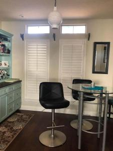 Window Shutters by Shades of Texas Austin Texas home installation kitchen