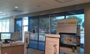 Window Shades by Shades of Texas Austin Texas commercial installation Sprint store