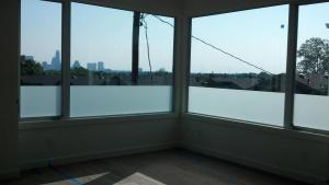 Frosted Window Tint by Shades of TexasAustin Texas home installation windows