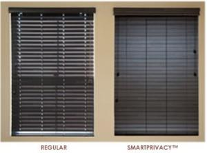 Window Blinds by Shades of Texas  Austin Texas residential installation  Smartprivacy Blinds