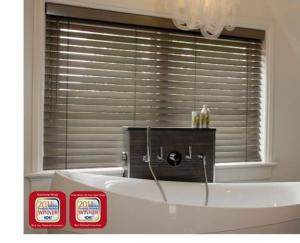 Window Blinds by Shades of Texas  Austin Texas residential installation bathroom
