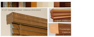 Window Blinds by Shades of Texas  Austin Texas residential installation Crown Valance, Contempo Valance
