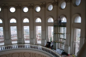 Commercial WIndow Tinting - Texas Capitol Building installation