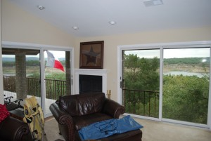 Residential Window Tinting - living room