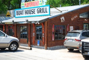 Window Tint by Shades of TexasAustin Texas commercial installation Boat House Grill