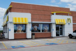 Window Tint by Shades of TexasAustin Texas commercial installation McDonald's