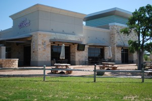 Window Tint by Shades of TexasAustin Texas commercial installation Little Woodrow's