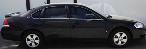 Auto Window Tinting by Shades of TexasAustin Texas black sedan