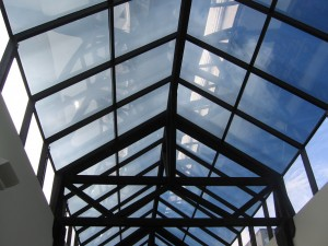 Skylight Window Tint by Shades of TexasAustin Texas commercial installation