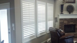 Window Shutters by Shades of Texas Austin Texas home installation living room