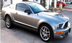 Auto Window Tinting by Shades of TexasAustin Texas silver mustang