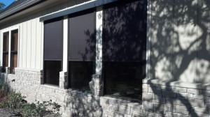 Window Shades by Shades of Texas  Austin Texas residential installation outdoor
